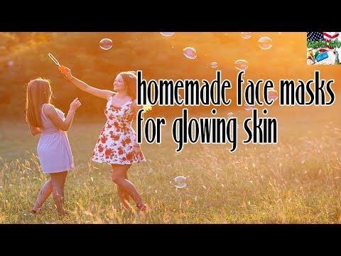 Sensitive Skin Care:  homemade face masks for glowing skin
