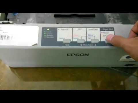 Setting Font Epson LX310