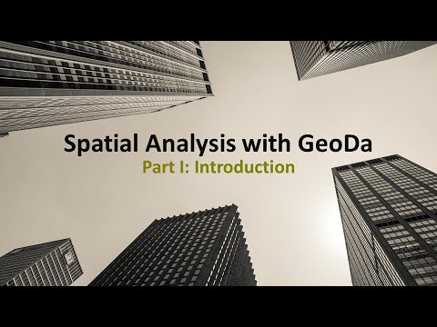 Spatial Analysis with GeoDa