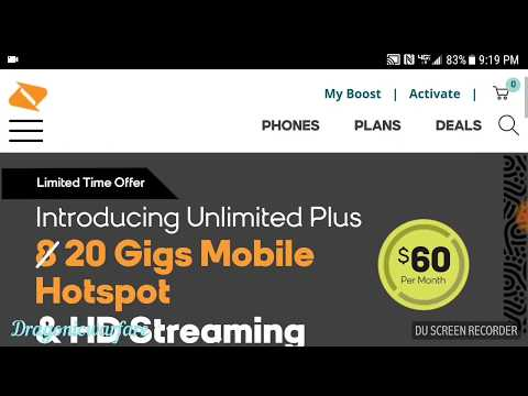 New $60 Unlimited Plus Boost Mobile Plan (it's Totally Worth It!) HD