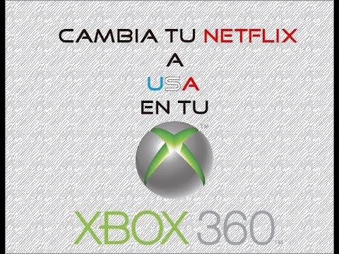 Como cambiar tu Netflix a Netflix USA XBOX 360 solo 4 min!