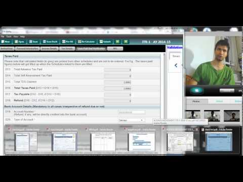 681 (Income tax) How to file income tax returns with Digital signature DSC(AY 2014 15)