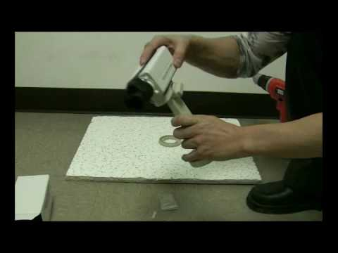 How to Mount a Box CCTV Camera to a Mounting Bracket.