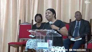 Missionaria Zete Alves -  Quinta profética - AD. Belford Roxo
