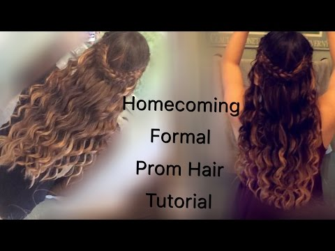 Homecoming/Formal/Prom Hair Tutorial *easy*