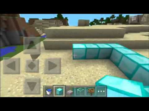 Minecraft PE:how to make a AFK Pool