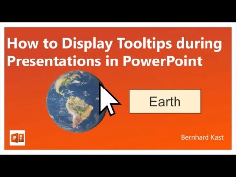 How to Display a Tooltip During A Presentation in PowerPoint