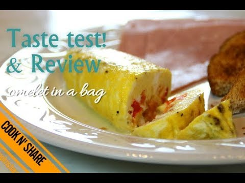 Omelette in a Bag Taste Test & Review - Mythbusters Episode 1