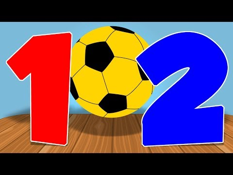 Learn Numbers and Colors | Educational Video | Learn Colors with Balls