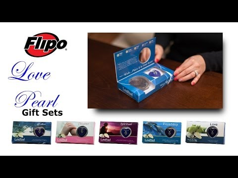 Love Pearl Necklace Gift Box Set from Flipo Group, Ltd.