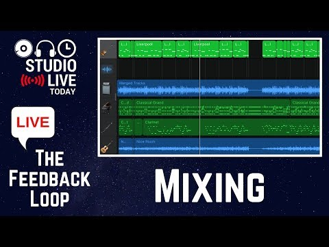 Mixing - how to mix a track in GarageBand iOS - The Feedback Loop LIVE
