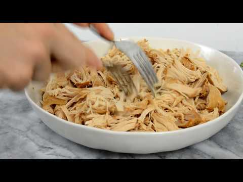 Simple Slow Cooker Shredded Chicken Recipe (Great for Meal Prep!)