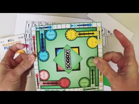 DIY American Girl Doll SORRY Board Game