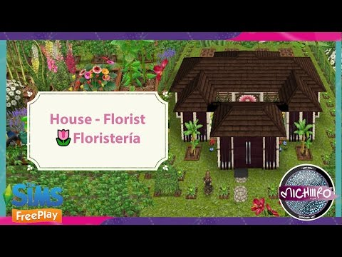 Sims Freeplay -🌸- House - Florist -🌼- Floristería -🌷- Tour -🌺- by Michiiiro