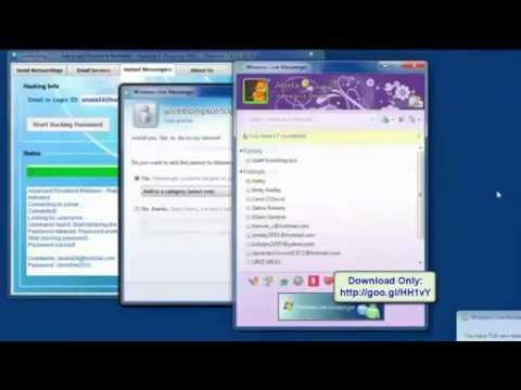 How to Recover Lost Hotmail Password 2013 NEW!! Crack Hotmail Password