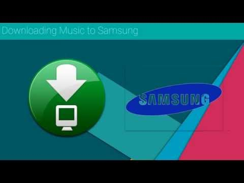 How to download music to Samsung