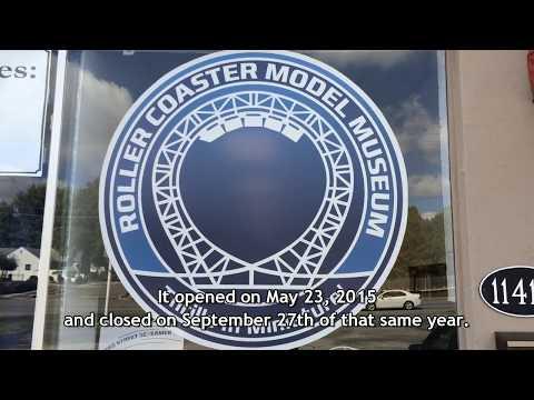 Roller Coaster Model Museum Tour