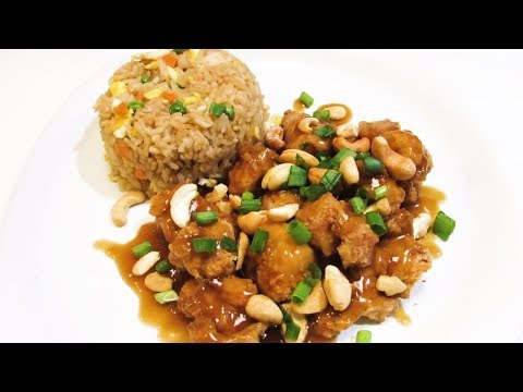 How to make Cashew Chicken! - Springfield Style Cashew Chicken - The Wolfe Pit