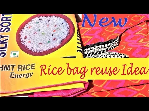 New Reuse Recycle Idea Of Rice Bag | DIY Easy Mixi Cover From Waste Material | Best Out Of Waste