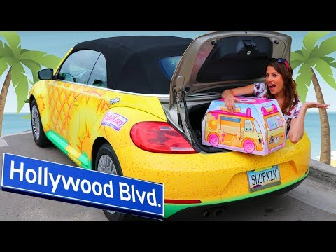 CUTIE CARS Scavenger Hunt In Hollywood - Behind The Scenes + Bikes on The Beach