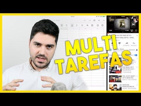 Como abrir dois aplicativos lado a lado no iPad com iOS 11