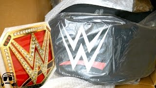 WWE Shop EPIC BLACK FRIDAY Title Championship Belt Haul Package Unboxing!!