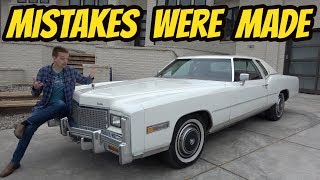 Here's Why I'm Already Selling My 1976 Cadillac Eldorado