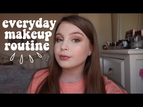 EVERYDAY MAKEUP ROUTINE (UPDATED) | Basically Megan
