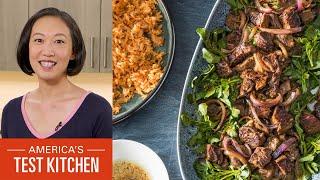 How to Make Bò Lúc Lắc (Shaking Beef) and Gỏi Cuốn (Vietnamese Summer Rolls)