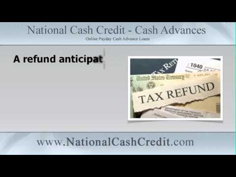 Refund Anticipation Loan: A refund anticipation loan is the cheap way to fast cash