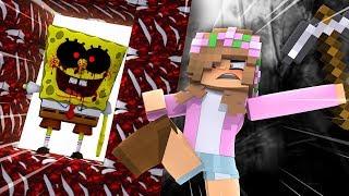 DESTROYING THE PORTAL TO SPONGEBOB.EXE ! Minecraft Little Kelly