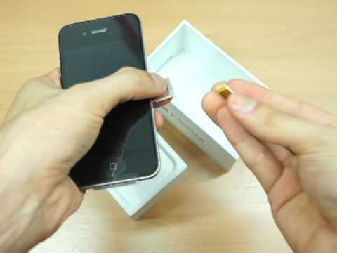 iPhone4S 16GB (Black) with iOS5.1.1 Unboxing (042)