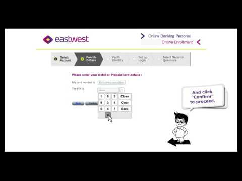 Eastwest  Online Banking Video 1 - How to Login