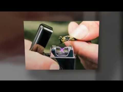 Tesla USB Double Arc Electric Lighter 360p