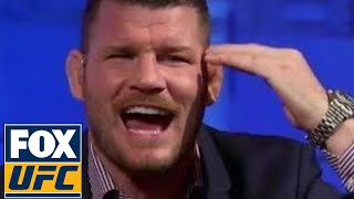 Michael Bisping responds to Luke Rockhold