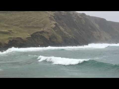 Norwick beach Shetland islands