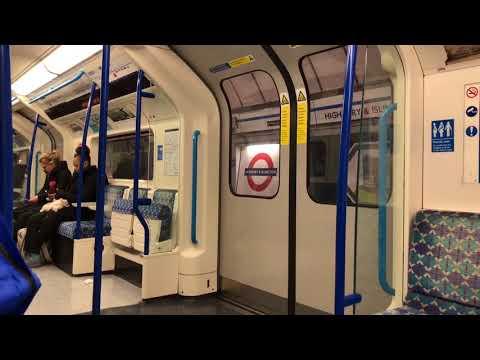 Victoria Line Journey: Kings Cross St Pancras-Finsbury Park 8.04.18
