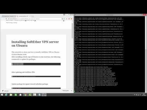 Softether VPN Server Kurulumu (Ubuntu 14.04-32Bit)