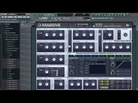 How to make the 'Bingo Players - Rattle' melody on Massive!