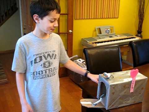 Garrett's Robotic Valentines Box