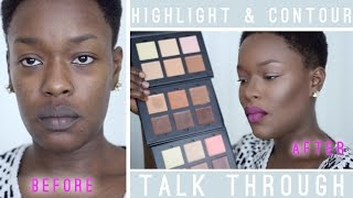 Highlight & Contour Talk Through #AnastasiaBeverlyHills  REVIEW