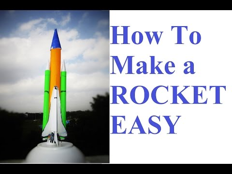 how to make a rocket - how to make a paper rocket