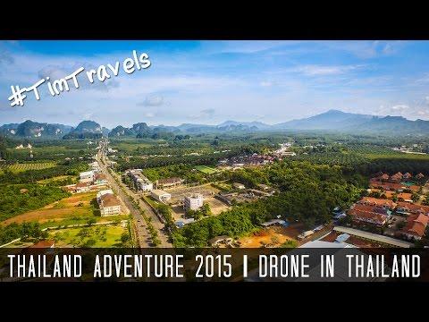 Thailand 2015 - Phuket, Koh Phangan, Koh Tao, Krabi ►#TIMTRAVELS ◄ (Drone in Thailand)