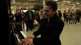 Download When a professional musician sits down at a public piano... Video