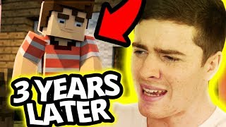 """Reacting To My Minecraft Song """"champions"""" (3 Years Later)"""