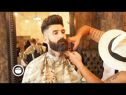 Getting a Beard Trim at the Barbershop | Carlos Costa