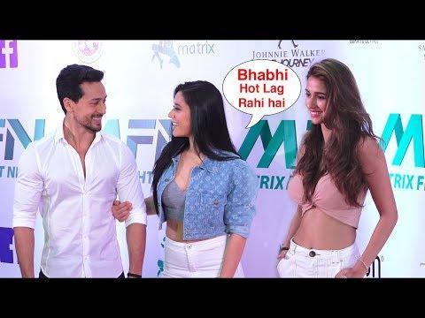 Xxx Mp4 Tiger Shroff With His Beautiful Sister Krishna Shroff And H0T Girlfriend Disha Patani Red Carpet 3gp Sex
