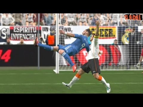 FIFA 14 iPhone/iPad bicycle kick
