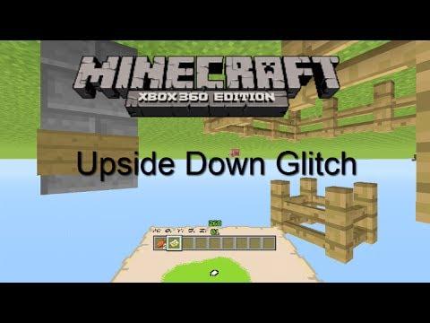 Minecraft Xbox 360 Amazing Upside Down Glitch