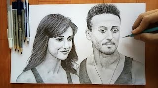 Baaghi 2 Tiger Shroff Easy Drawing Step By Step